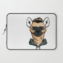 Smoking Hyena Laptop Sleeve