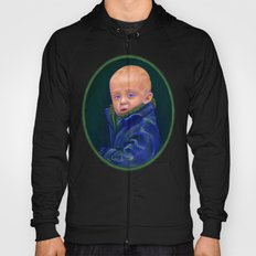 Hold - portrait painting of a child Hoody