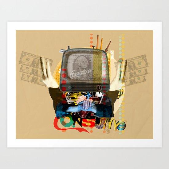 Modern Times - Consume TV Art Print
