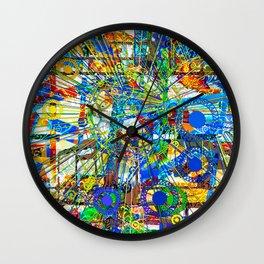 Joy (Goldberg Variations #14) Wall Clock