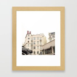 architecture in istanbul Framed Art Print