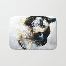 Siamese Cat Bath Mat