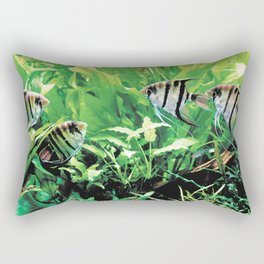 Teardrop Angelfish Rectangular Pillow