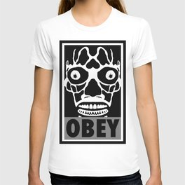 John Carpenter's They Live X OBEY  T-shirt