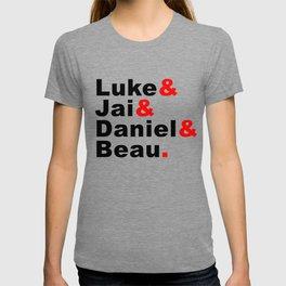 Luke& Jai& Daniel& Beau. T-shirt