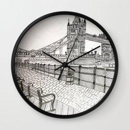 London bridge Wall Clock