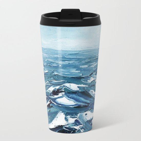 Deep Dark Seas Metal Travel Mug