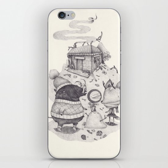 neige iPhone & iPod Skin