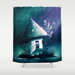 Magic Mush Room Shower Curtain
