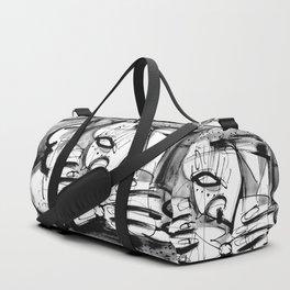 Drinker - b&w Duffle Bag