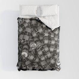 Chrome dumbbells Comforters