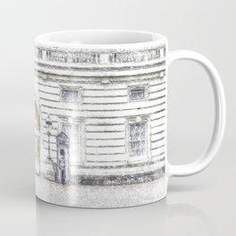 Buckingham Palace Snow Coffee Mug