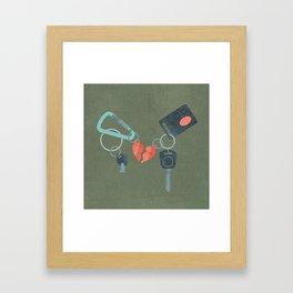 Star-Crossed Lovers Framed Art Print