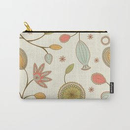 Mehndi Flower Carry-All Pouch