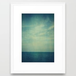 Sky Blue Framed Art Print