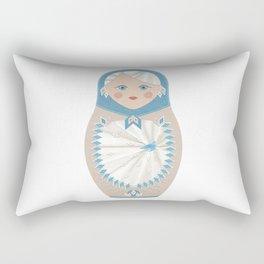 matryoshka, russian doll, nesting dolls, babushka, gift Rectangular Pillow