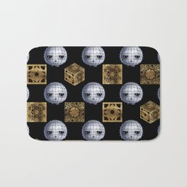 Chibi Pinhead & Puzzle Boxes Bath Mat