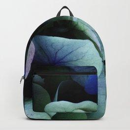 blue hydrangea Backpack