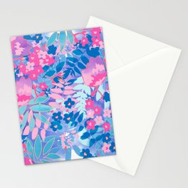 Pastel Watercolor Flowers Stationery Cards