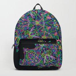 Rainbow Portal Mandala Backpack