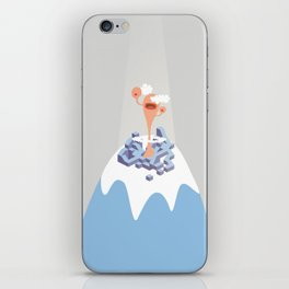 montain mouth iPhone Skin