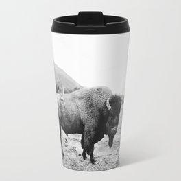 Alaska Bison Travel Mug