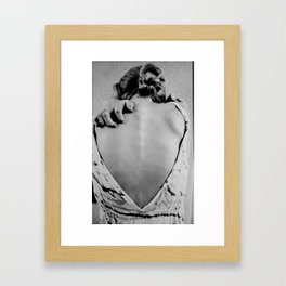 these bones Framed Art Print