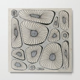 Puzzle Blocks Metal Print
