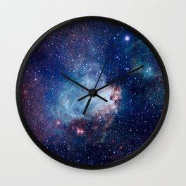 Omega Nebula Wall Clock