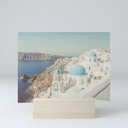 Santorini in Greece Mini Art Print