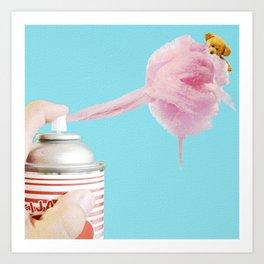 Cotton Dreams Art Print