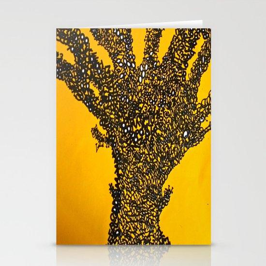 Alphabet Tree Stationery Cards