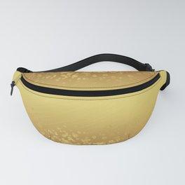 Chic Stylish Elegant Gold Glitter Confetti Fanny Pack