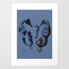 Beautiful Briny Sea Art Print