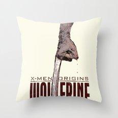 X-Men Origins: Wolverine Throw Pillow