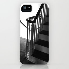 Staircase at Duportail House iPhone Case