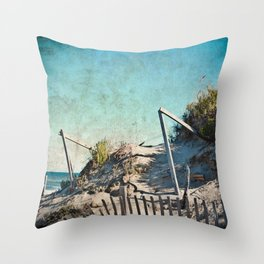 Salt Air Throw Pillow