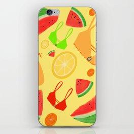Juicy Girl Summer iPhone Skin