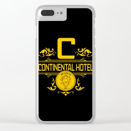Resort for Killers Clear iPhone Case