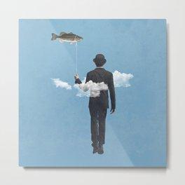 fly fishing Metal Print
