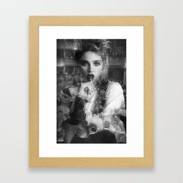 """La Scala"" & Madonna Framed Art Print"