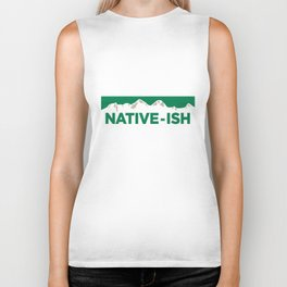Native-ish Biker Tank