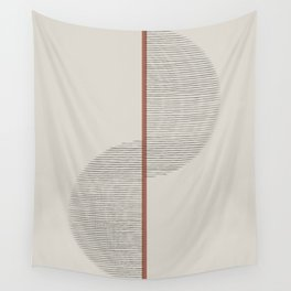 Geometric Composition II Wall Tapestry
