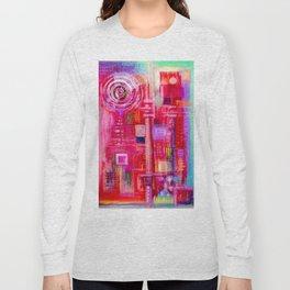 abstract #237 Long Sleeve T-shirt