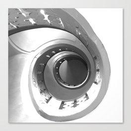 Escalera de caracol (Spiral staircase)  Canvas Print