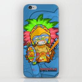 Azteca Moderno - Eagle Warrior Munny iPhone Skin