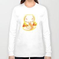 kaiju Long Sleeve T-shirts featuring Kaiju Kai by Stationjack
