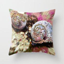 Rooiels Shells Throw Pillow