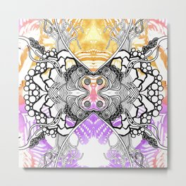 Rorshach 7 Metal Print