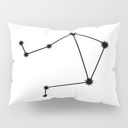 Libra Astrology Star Sign Minimal Pillow Sham